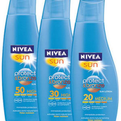 Nivea Sun Protect & Bronze 200ml